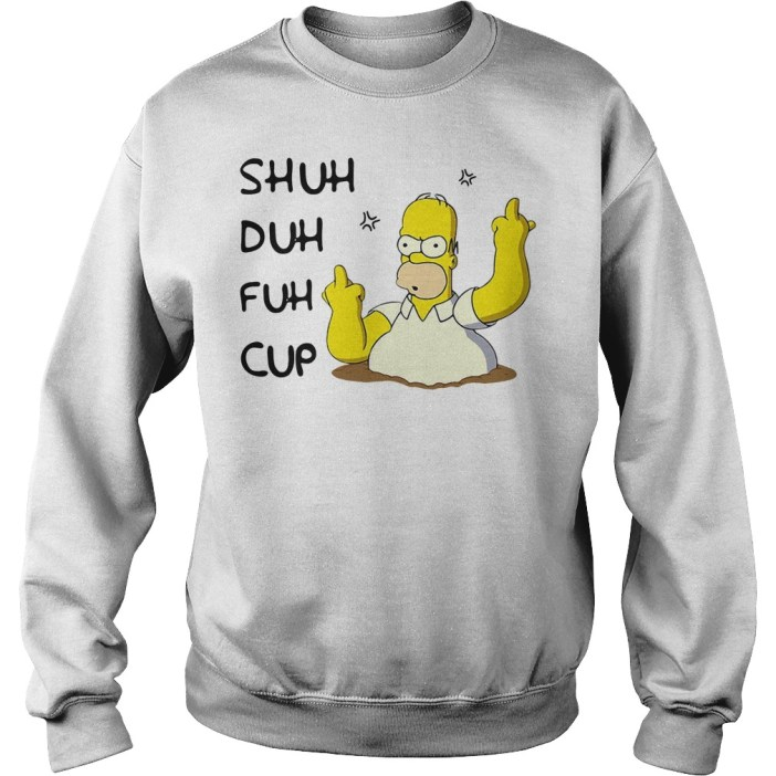 Homer Simpson Shuh Duh Fuh Cup Sweater