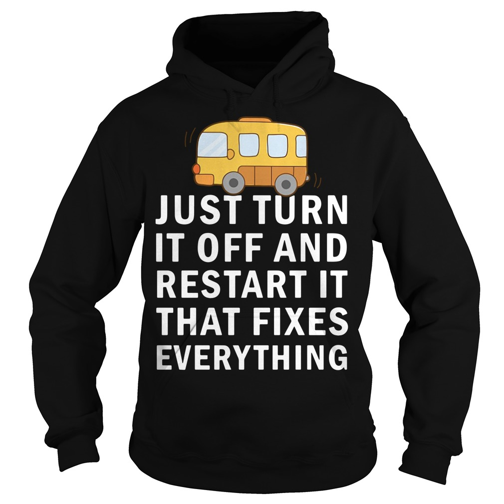 Just turn it off and restart it that fixes everything Hoodie
