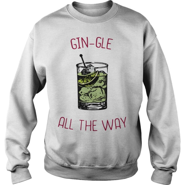 Gin-gle all the ways Sweater