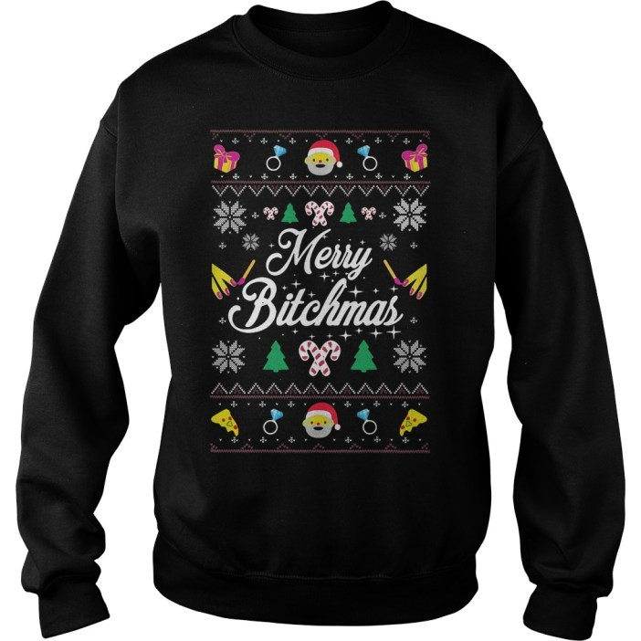 Merry Bitchmas Ugly Christmas Sweater
