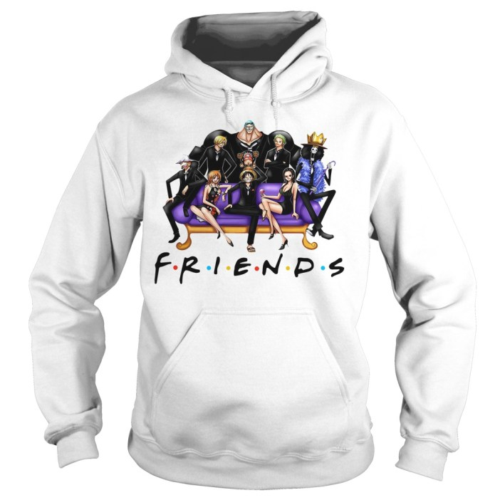 Official One Piece Friends Hoodie