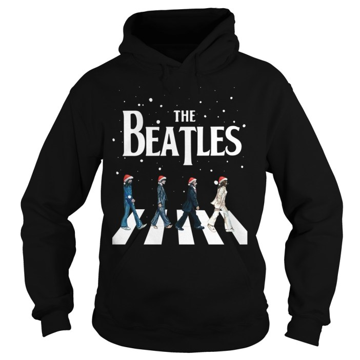 Christmas The Beatles Abbey Road Hoodie