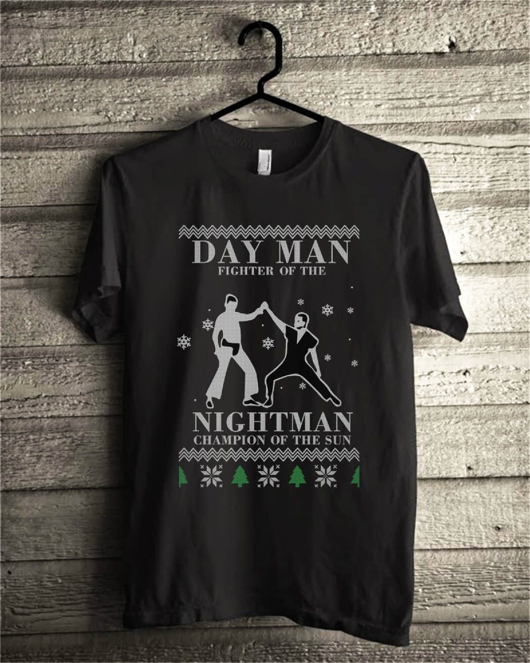 Day man fighter of the nightman champion of the sun christmas shirt