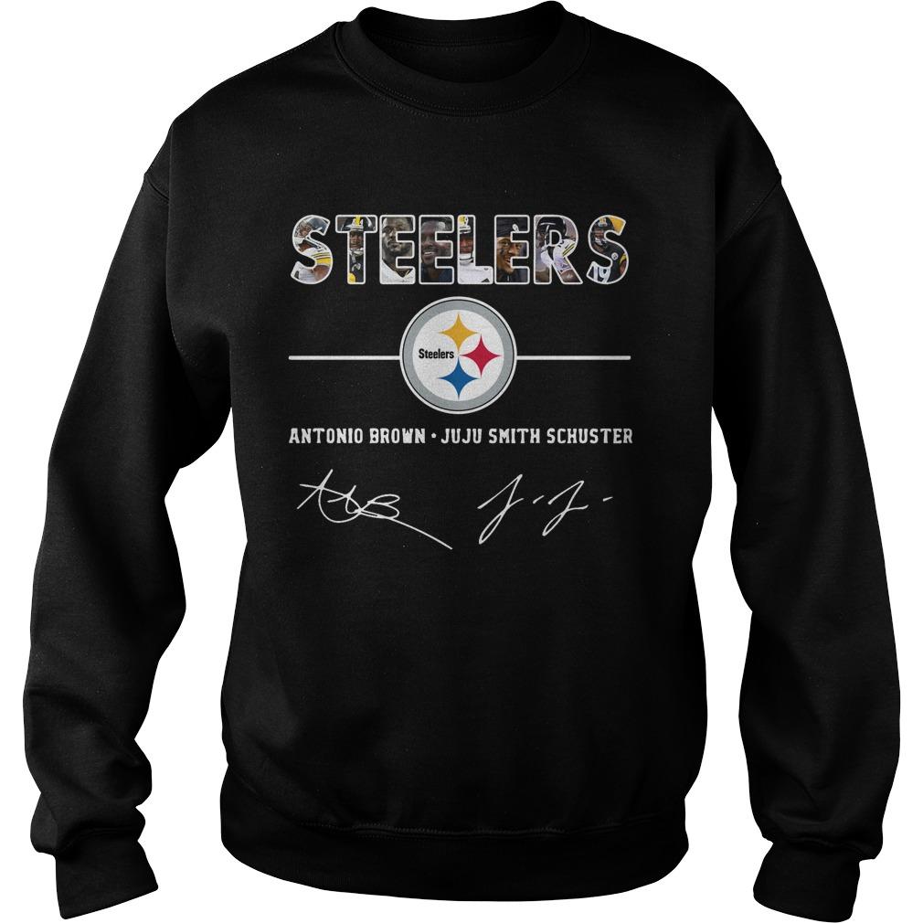 Pittsburgh Steelers antonio brown and Juju smith schuster Sweater