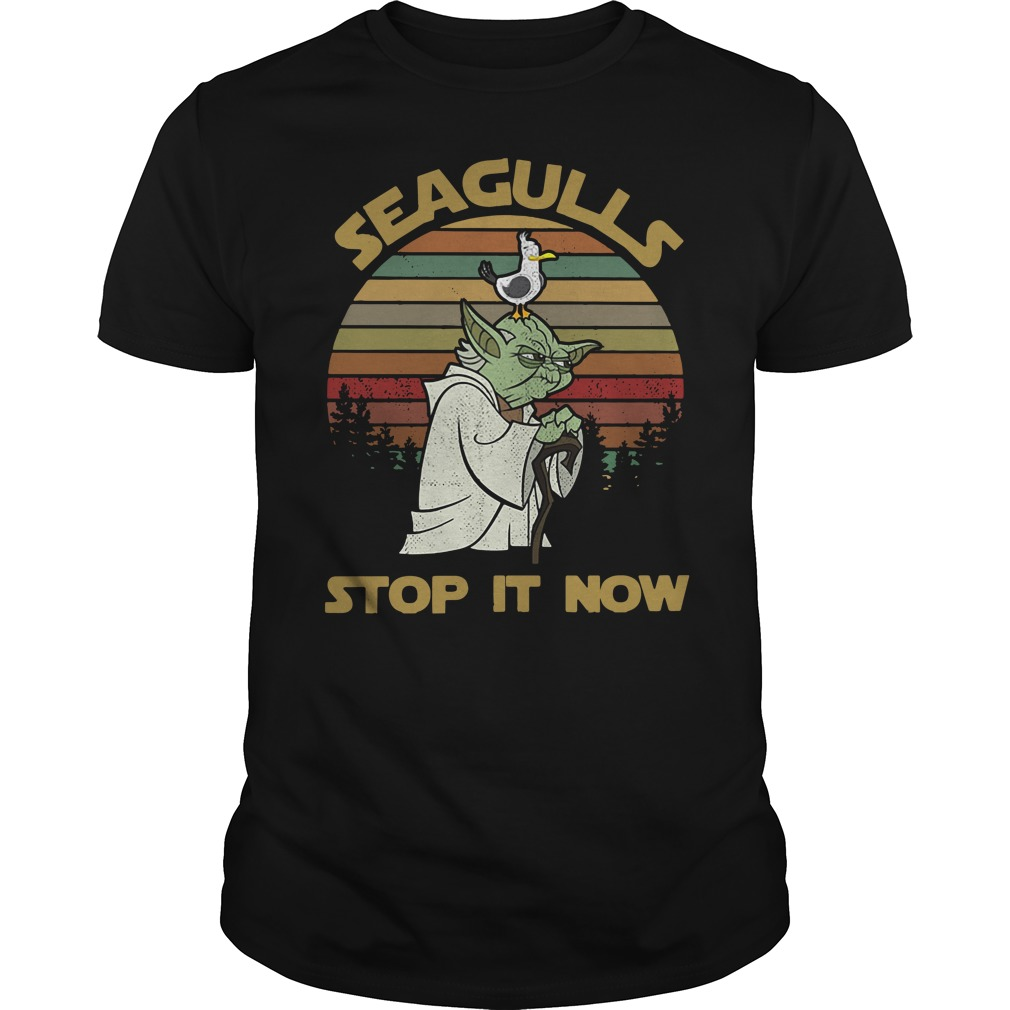 Seaguls stop it now Guys Shirt