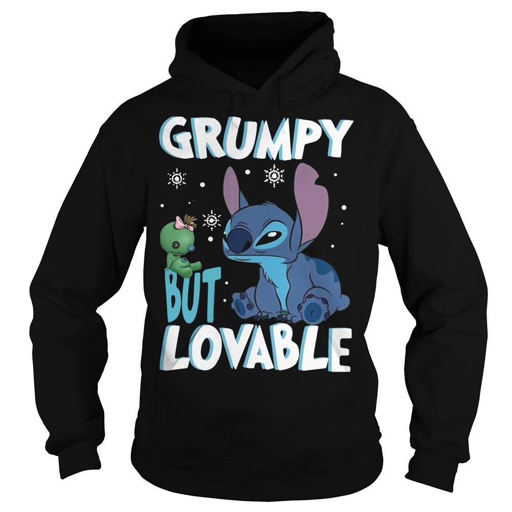Stitch Grumpy but lovable Hoodie
