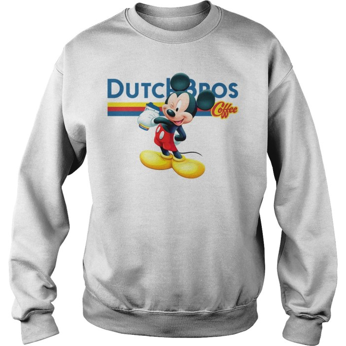 Official Mickey Mouse drink Dutch Bros Coffee sweater