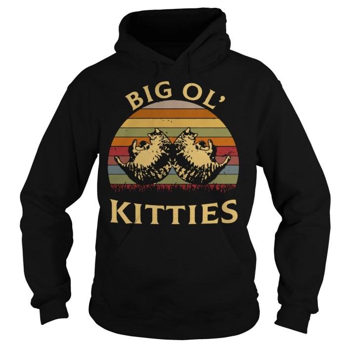 Big ol' kitties vintage Hoodie