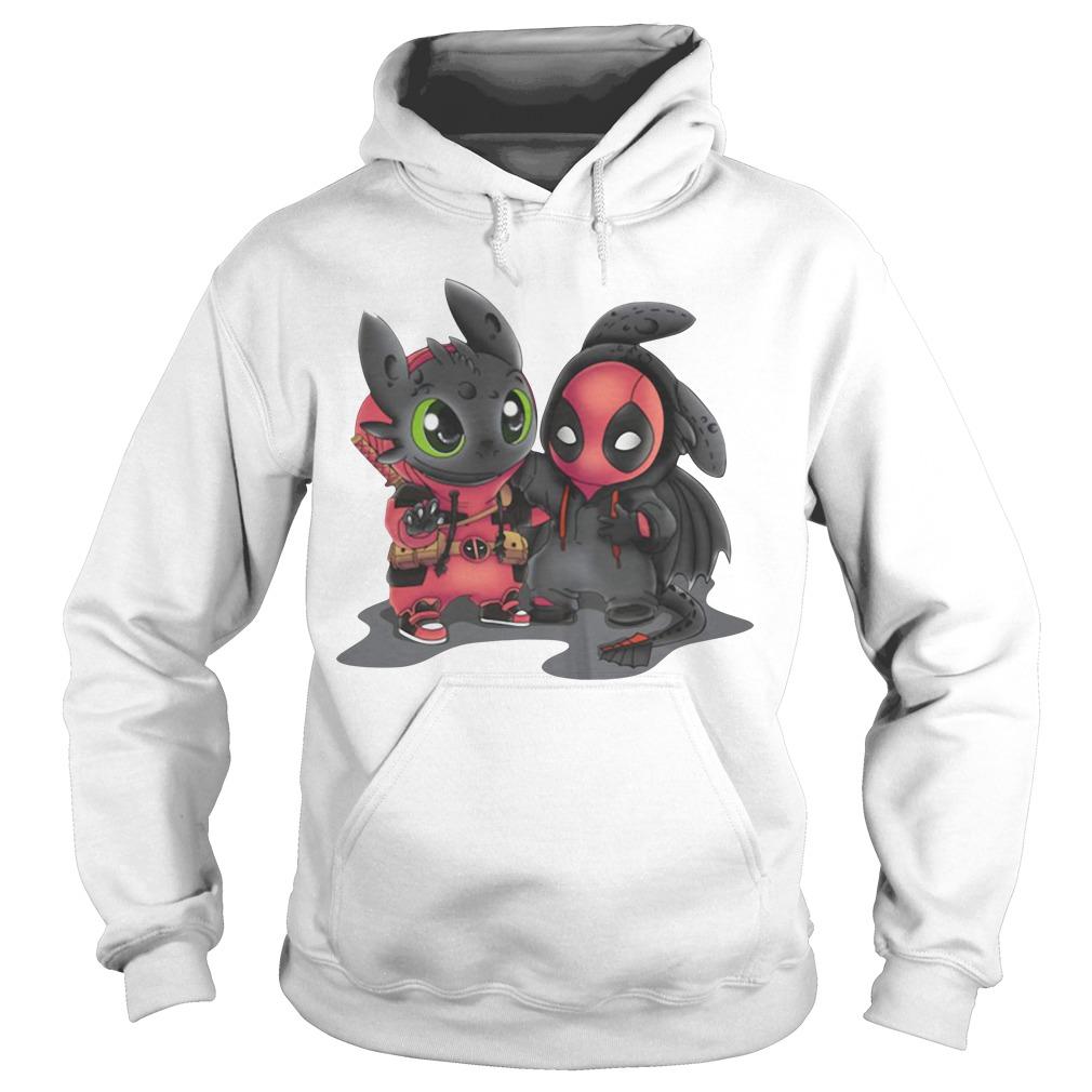 Toothless and Deadpool Hoodie