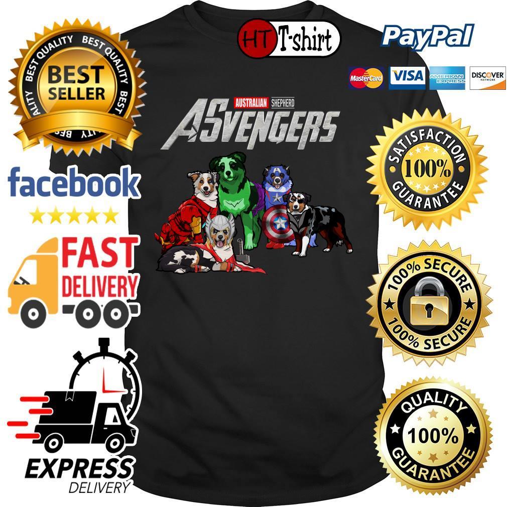 Australian Shepherd Asvengers Marvel Avengers shirt