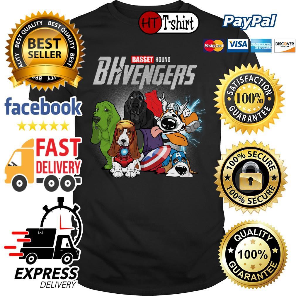 Basset Hound BHvengers Marvel Avengers shirt
