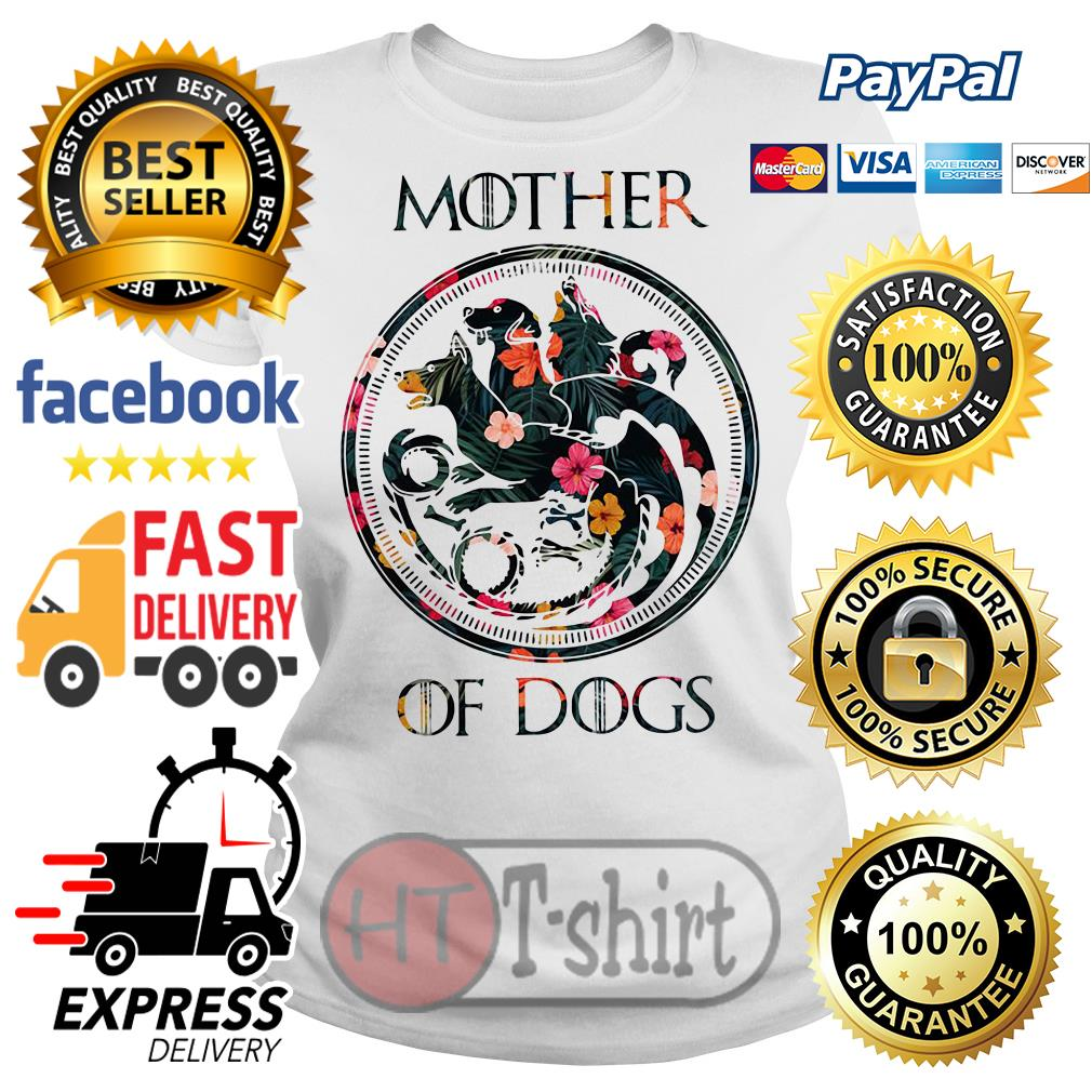 Flower mother of dogs game of Thrones Ladies tee