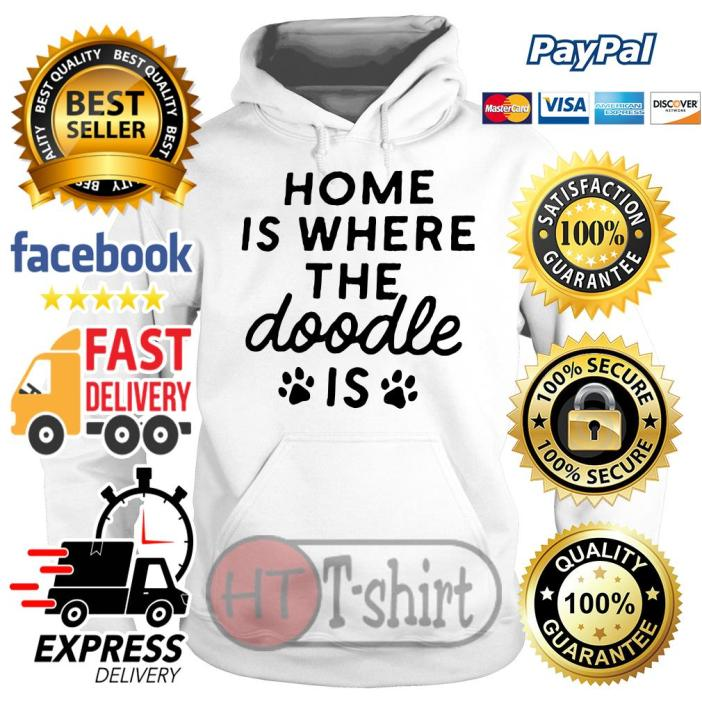Home is where the Doodle is Dog Hoodie
