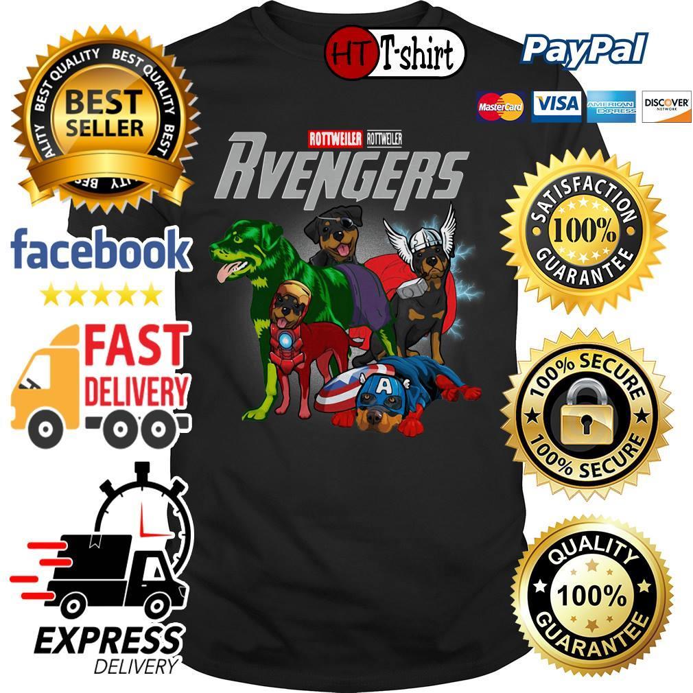 Marvel Avengers Endgame Rottweiler Rvengers shirt