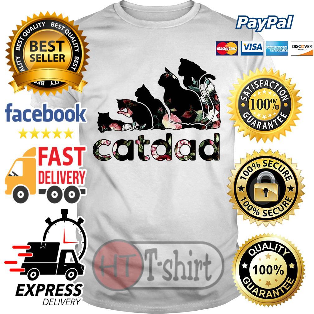 Official Flower Catdad shirt