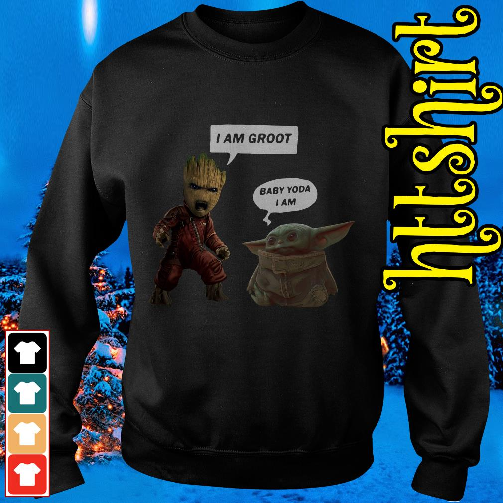 Baby Groot and Baby Yoda Sweater