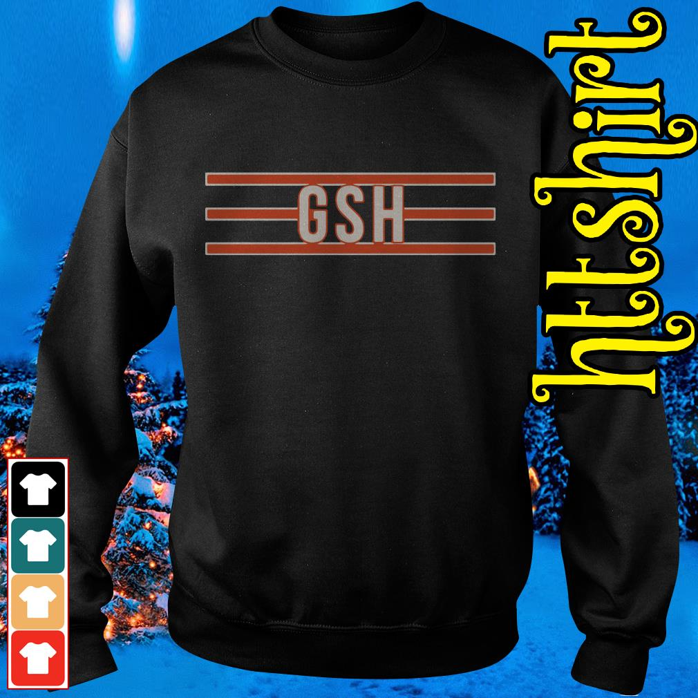 George S Halas GSH Chicago Bears Sweater