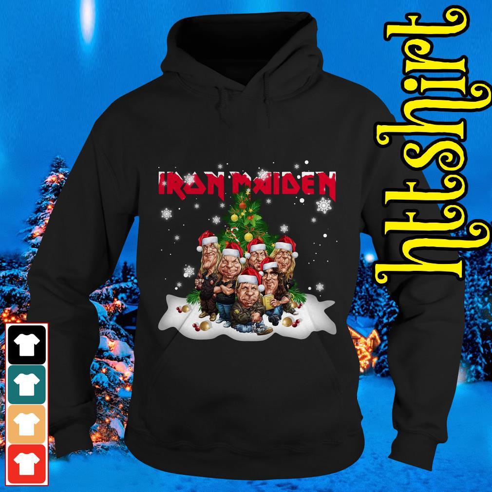 Iron Maiden Christmas tree Hoodie