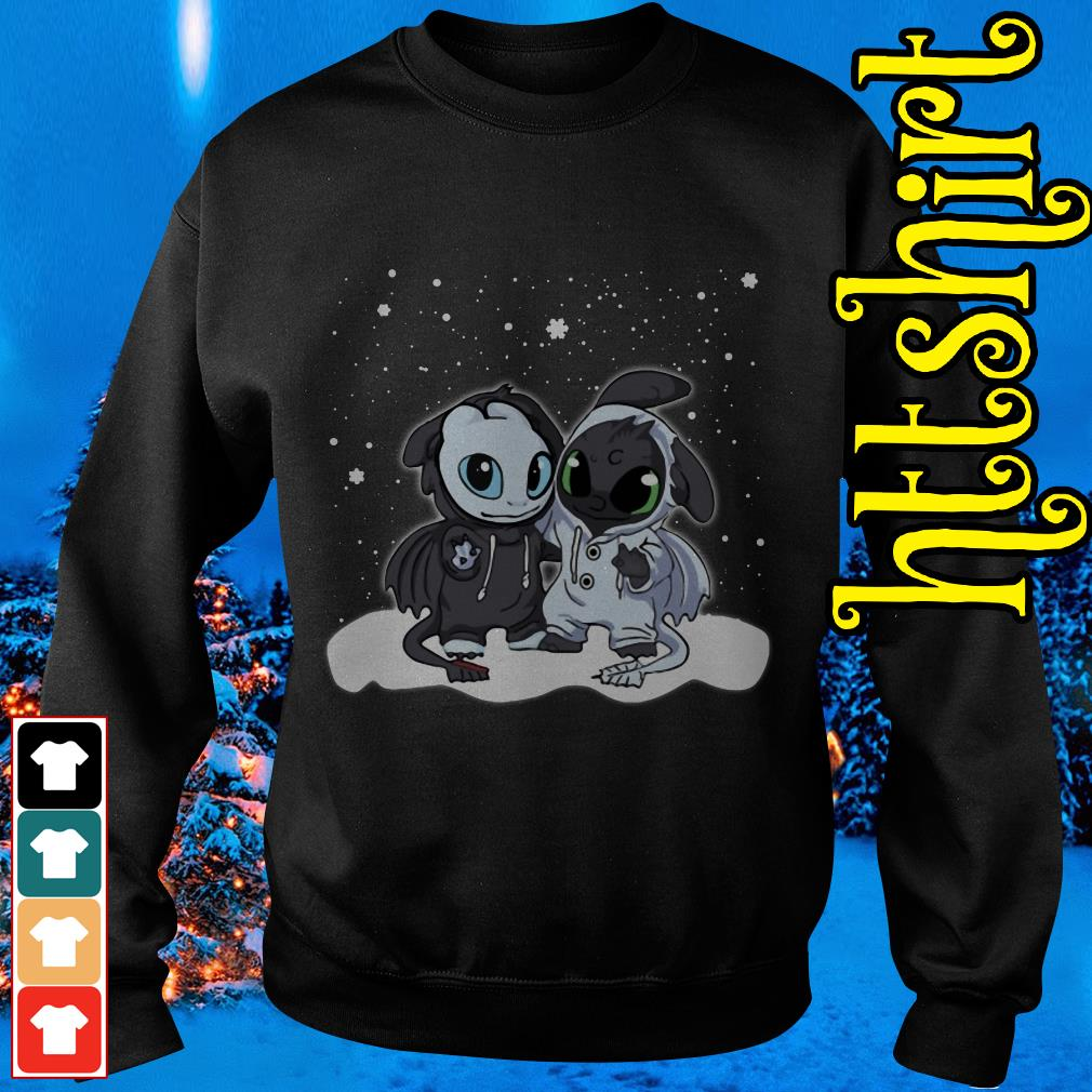 Night Fury and Light Fury Christmas Sweater