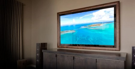 Mirror TV - Screen On