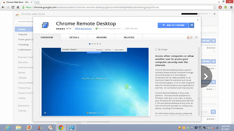 3Get CRD from Chrome Store