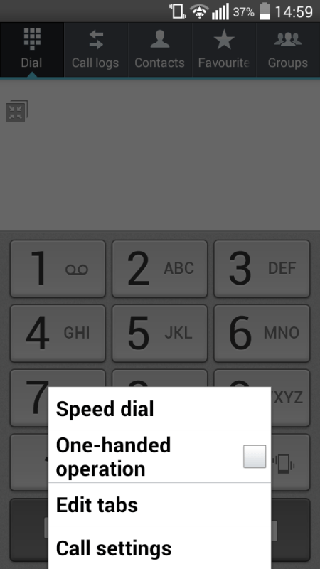 Android Blocking - Dialler Settings