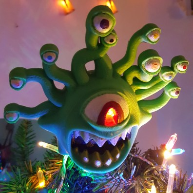 Beholder Dungeons & Dragons Christmas Tree 3D Print 4