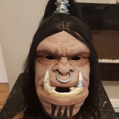 Grom Hellscream 3D Printed Head 3