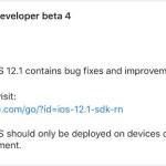 iOS 12.1 beta 4公開、正式版リリースは来週かな?