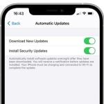 iOSの更新とセキュリティ関連のアップデートを個別に実施へ