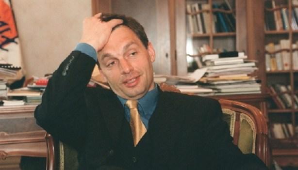 Orbán Viktor 1994-ben. Fotó kettőspont HVG