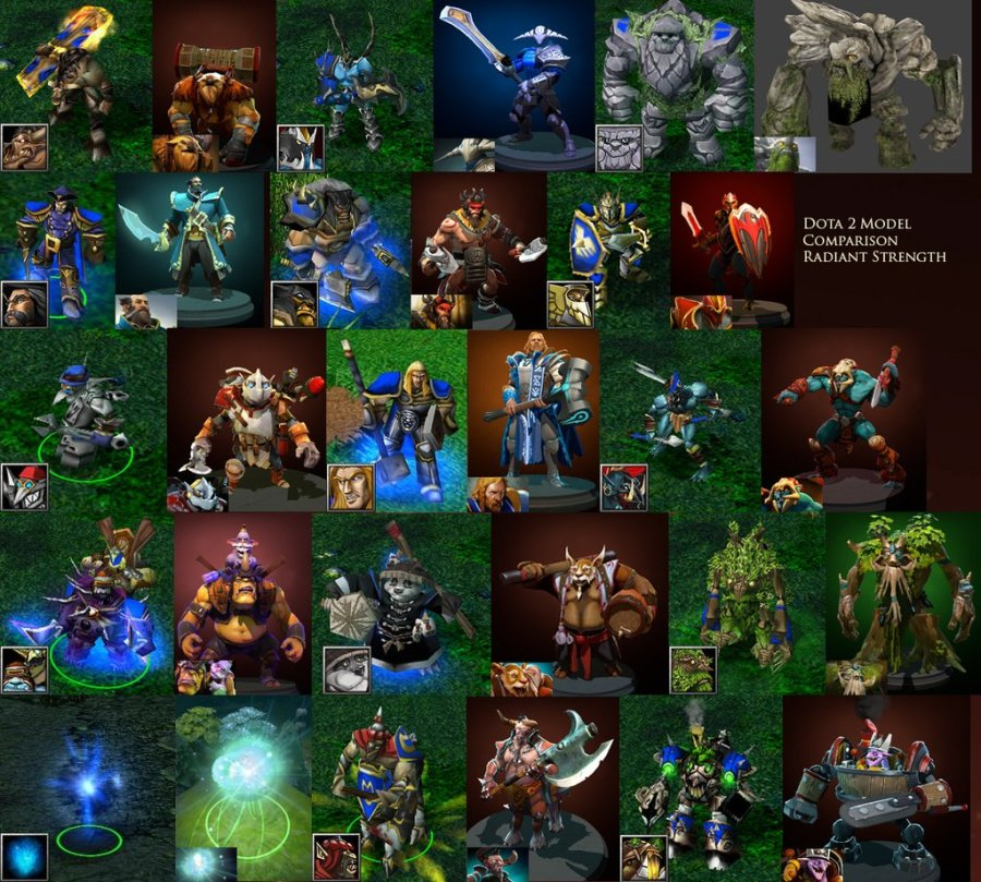heróis do Dota 2