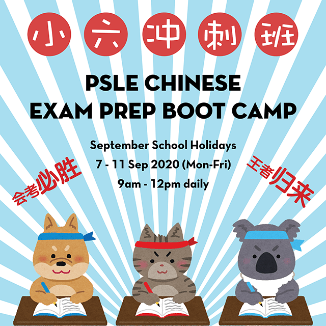 PSLE Chinese Exam Prep Bootcamp