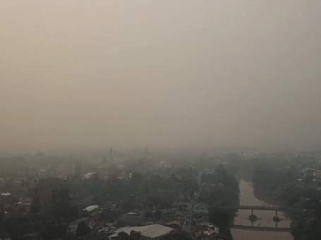 Chiang Mai returned world's polluted city
