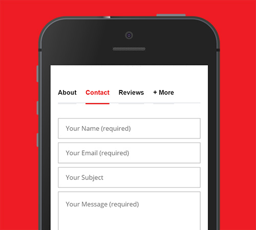 Hua Hin Places Business Listing Feature Contact Form