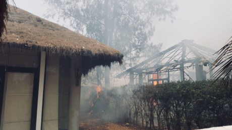 Fire ravages local resort Hua Hin resort