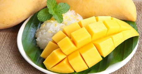 Mango Season In Thailand; The King Of Fruits; Delicious And Healthy