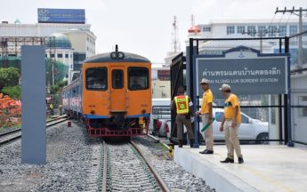 Train service to Cambodian border to start July 1