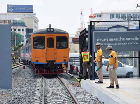 Train service to Cambodian border will start on 1st July