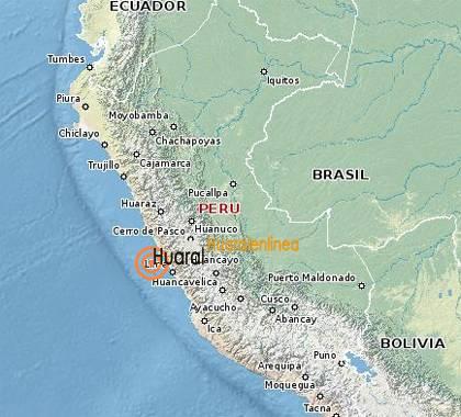 Sismo Huaral en linea