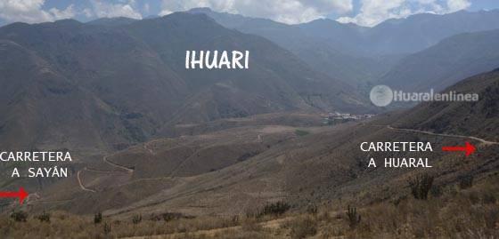 carretera - Ihuari
