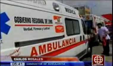 ambulancia gobierno regional