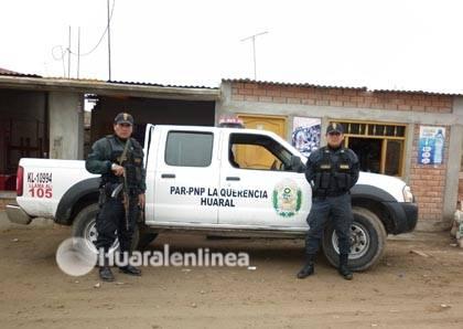policia La Querencia