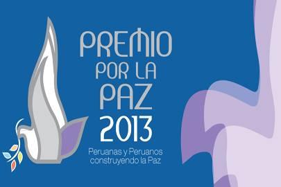 Premio Por La Paz 2013