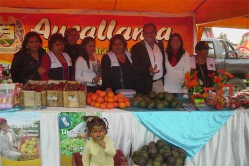Festival agropecuario y artesanal en Huando