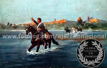Combate de pescadores Chancay