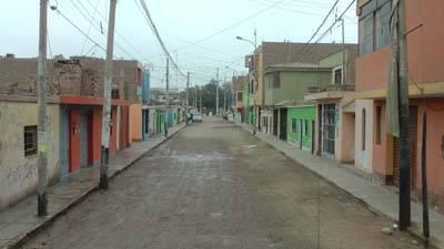 obra de pistas Huaral