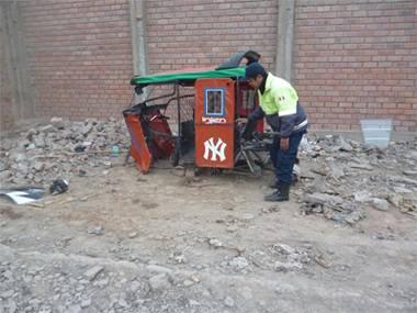mototaxi robado