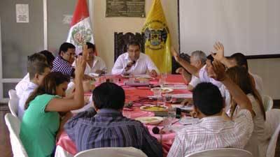 sesion concejo Huaral