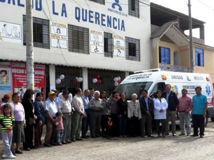 ambulancia al Centro de Salud Querencia